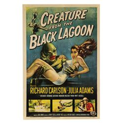 Creature from the Black Lagoon One Sheet Poster.