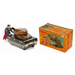 LineMar Superman Tank Toy with Box.