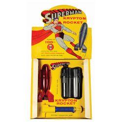 Superman Krypton Rocket Water Propulsion Toy - Red.