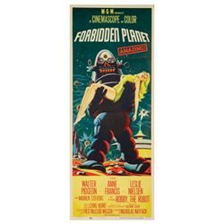 Forbidden Planet Insert Poster.