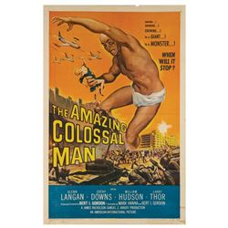 The Amazing Colossal Man One Sheet Poster.