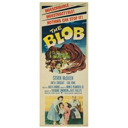 The Blob Insert Poster.