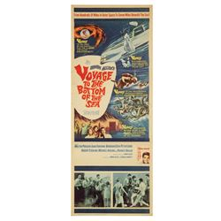 Voyage to the Bottom of the Sea Insert Poster.