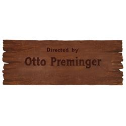 River of No Return Otto Preminger Title Credit Board.
