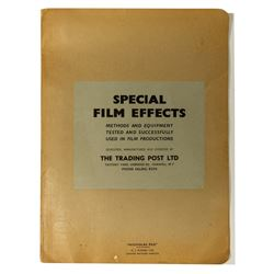 Harper Goff's The Vikings Film Effects Research Packet.