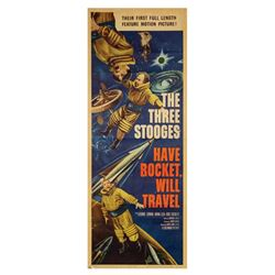 Have Rocket, Will Travel Insert Poster.