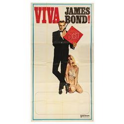 James Bond 007 Foreign 3-Sheet Poster.