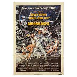James Bond 007 Moonraker One Sheet Poster.