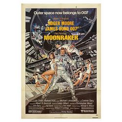 James Bond 007 Moonraker One Sheet Poster.
