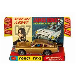James Bond 007 Aston Martin DB5 Corgi Die-Cast Model.