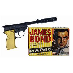James Bond 007 Goldfinger Cap Pistol in Box.