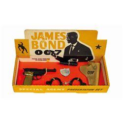 James Bond 007 Special Agent Presentation Set.