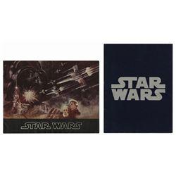 Pair of Star Wars Programs.