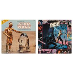 Pair of Star Wars Records.