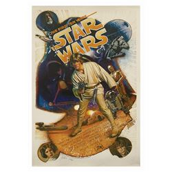 Star Wars Drew Struzan Signed Anniversary Poster.
