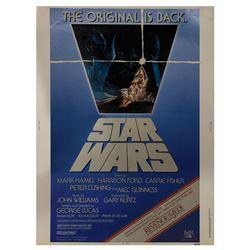 """Star Wars """"Revenge of the Jedi"""" Cardstock Poster."""