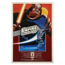 The Empire Strikes Back Larry Noble Signed Poster.