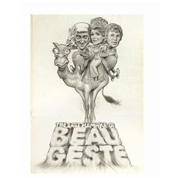 The Last Remake of Beau Geste Poster Artwork.