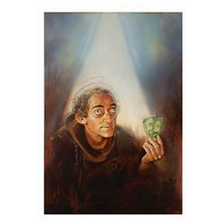 In God We Tru$t Marty Feldman Poster Concept Painting.