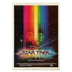 Star Trek: The Motion Picture One Sheet Poster.