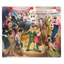 "Original ""1941"" Promotional Painting."