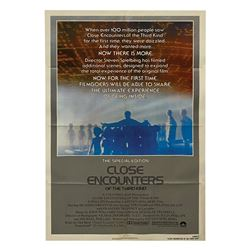 Close Encounters of the Third Kind Poster.