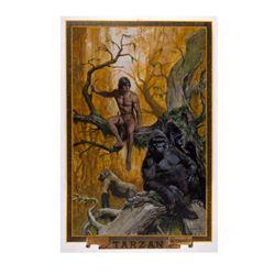 Original Tarzan Thought Factory Poster Artwork.