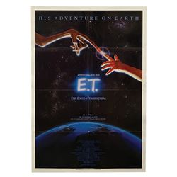 E.T. the Extra-Terrestrial One Sheet Poster.