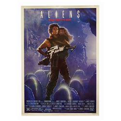 Aliens Recalled One Sheet Poster.