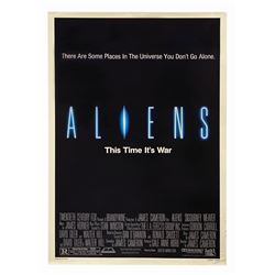 Aliens One Sheet Poster.
