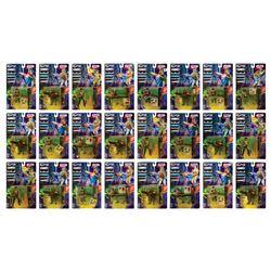 Set of (24) Case Fresh Aliens Series 1 Action Figures.