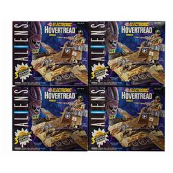 Set of (4) Aliens Electronic Hovertread Vehicles.