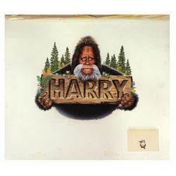 Harry and the Hendersons Promotional Painting.