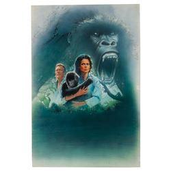 Drew Struzan Gorillas in the Mist Poster Concept.