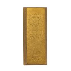 Austin Powers Gold Bar Prop.