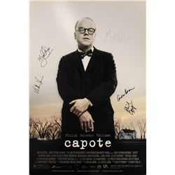 Signed Capote Poster.