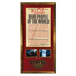 Charlie and the Chocolate Factory Poster Prop.
