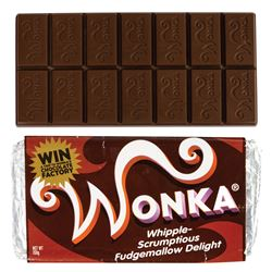 Charlie and the Chocolate Factory Wonka Bar Prop.