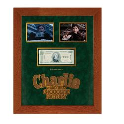 Charlie and the Chocolate Factory $10 Bill Prop.