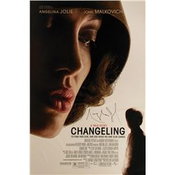 Changeling Poster Signed by Angelina Jolie.