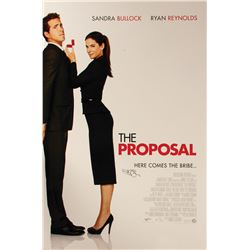 The Proposal Poster Signed by Sandra Bullock.