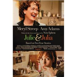 Signed Julie & Julia Event Poster.