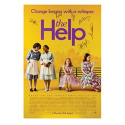 Signed The Help Event Poster.