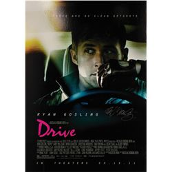 Signed Drive Event Poster.