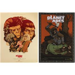 Pair of Mondo Planet of the Apes Posters