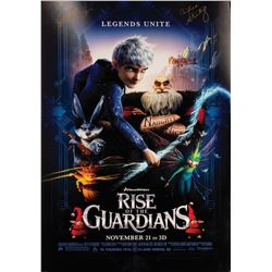 Signed Rise of the Guardians Event Poster.
