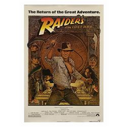 Raiders of the Lost Ark One Sheet Poster.