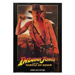 Indiana Jones and the Temple of Doom Teaser One Sheet.