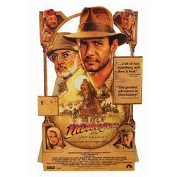 Indiana Jones and the Last Crusade Store Display.