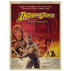 Indiana Jones and the Temple of Doom French Poster.